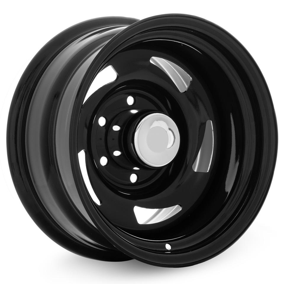 Штампованный диск TREBL Off-road 01 10x15/6*139.7 D108.7 ET-24 Black