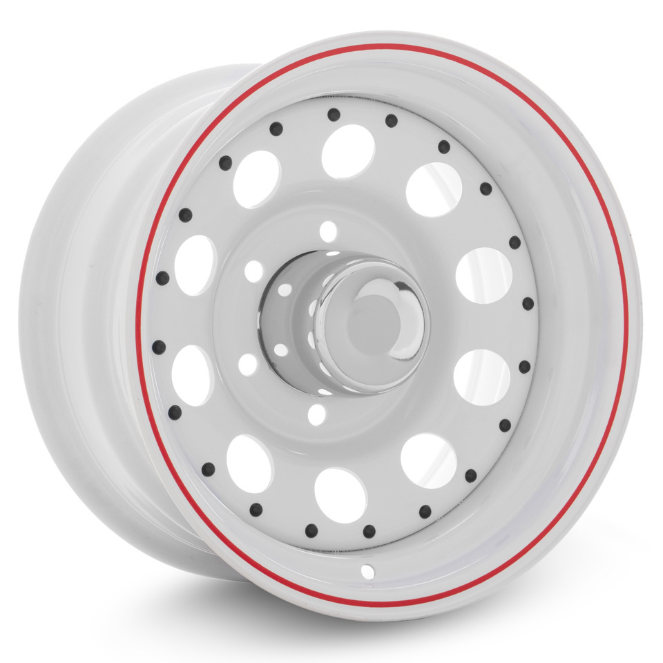 Штампованный диск TREBL Off-road 02 8x15/6*139.7 D110.5 ET-16 WRS