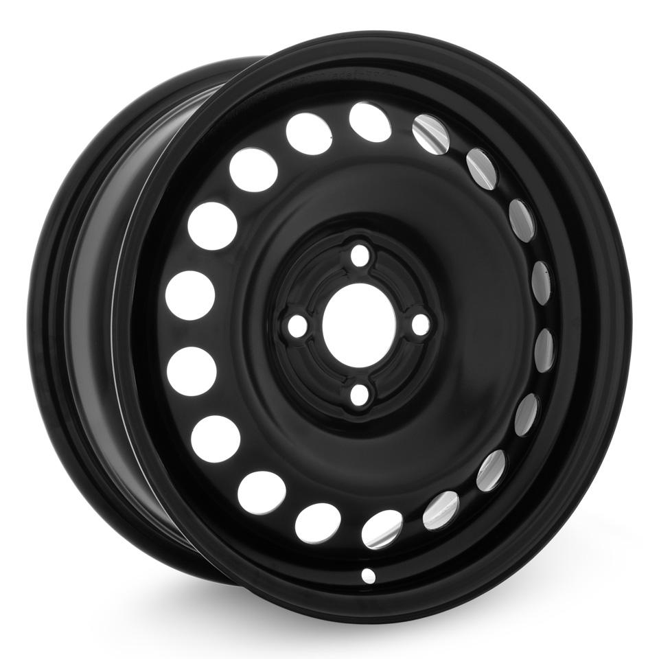 Фото - Штампованный диск TREBL X40014 Renault 6x15/4*100 D60.1 ET36 Black штампованный диск trebl 9695t peugeot 6 5x16 4 108 d65 1 et31 black
