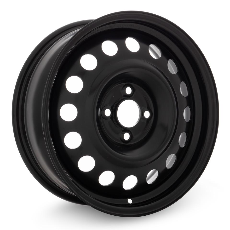 Штампованный диск TREBL X40032 Renault 6x16/4*100 D60.1 ET36 Black штампованный диск trebl x40933 p lada 6x16 4 100 d60 1 et41 black