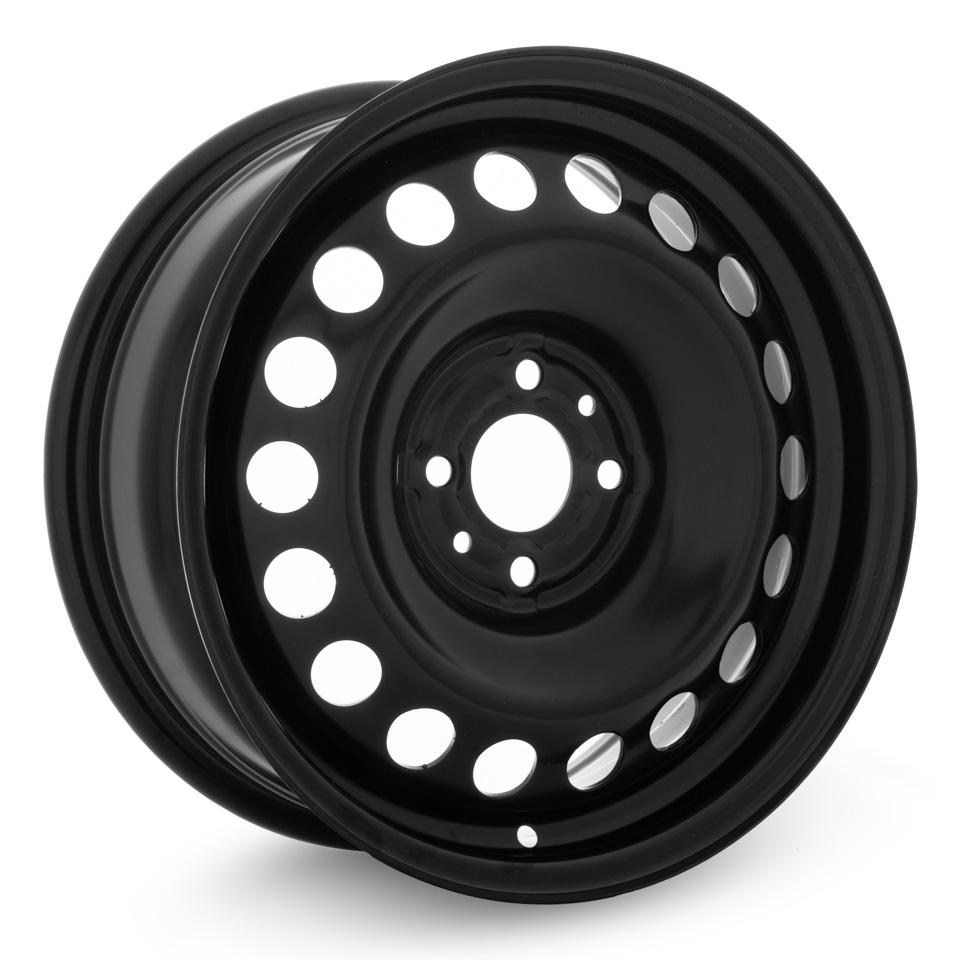 Фото - Штампованный диск TREBL Lada X40021 P 6x15/4*98 D58.6 ET35 Black штампованный диск trebl 9695t peugeot 6 5x16 4 108 d65 1 et31 black