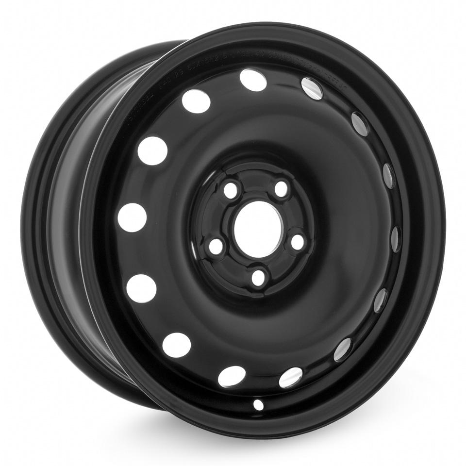 Фото - Штампованный диск TREBL X40029 Skoda 6x15/5*100 D57.1 ET40 Black trebl 64j40h trebl 6x15 5x114 3 d67 1 et40 black