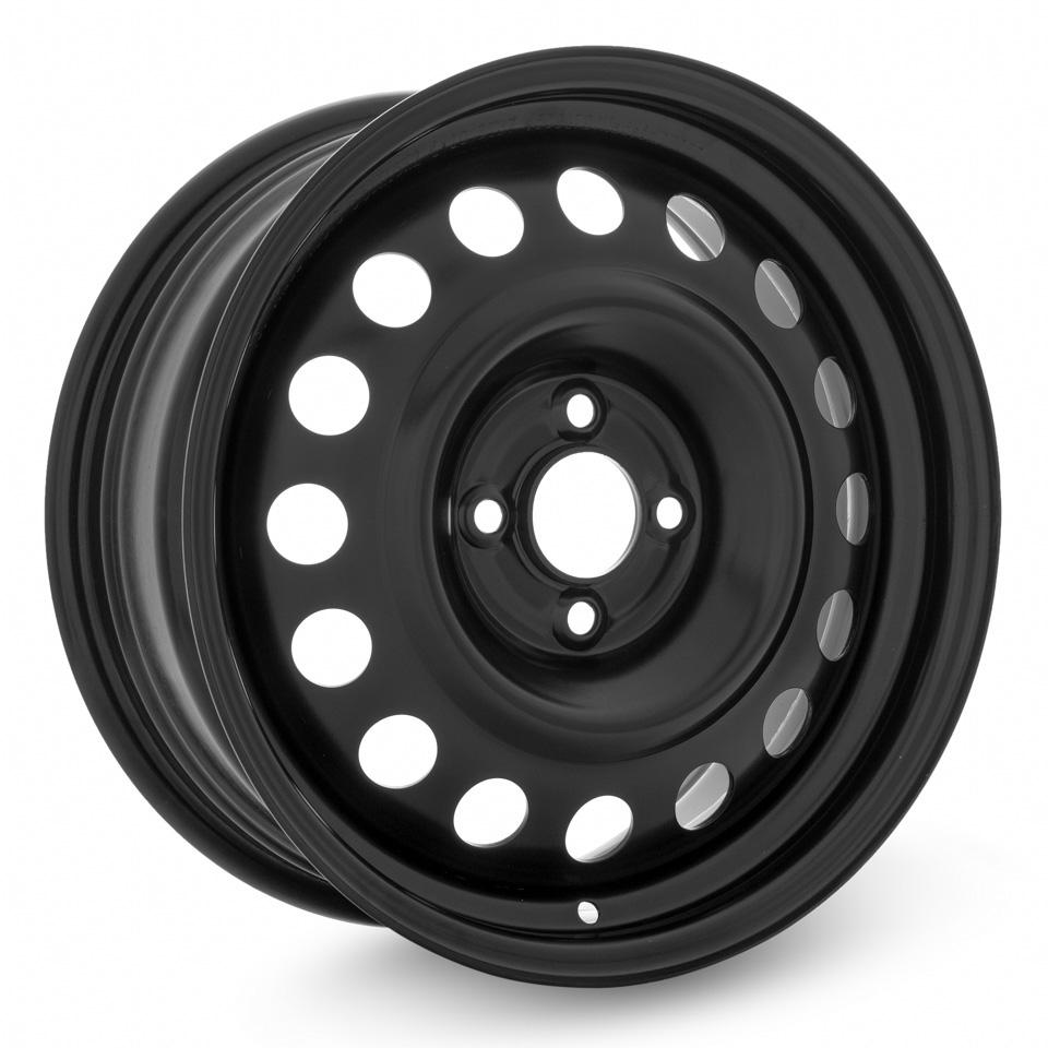 Фото - Штампованный диск TREBL R-1676 6.5x16/4*100 D60.1 ET37 Black штампованный диск trebl mitsubishi outlander r 1722 6 5x17 5 114 3 d67 1 et38 black