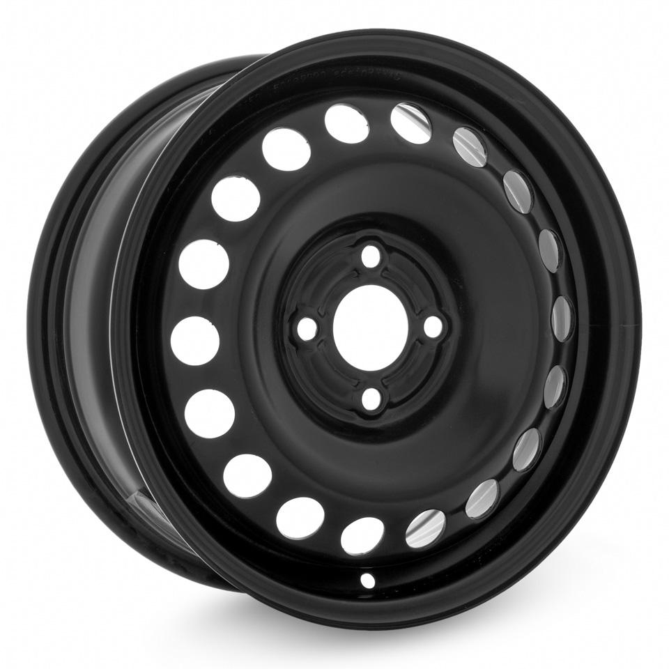 Фото - Штампованный диск TREBL 64A50C P Renault 6x15/4*100 D60.1 ET50 Black штампованный диск magnetto lada vesta 15009 6x15 4 100 d60 1 et50 black