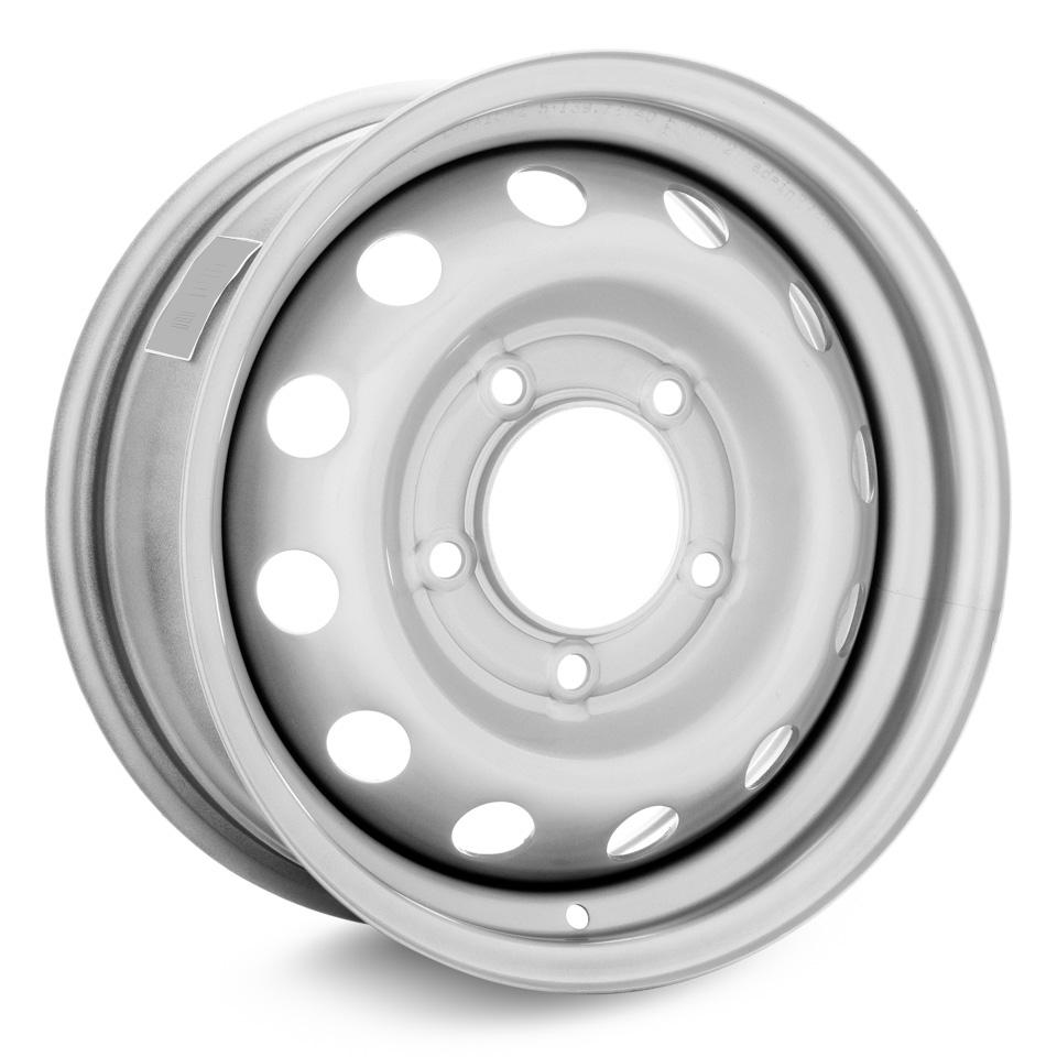 Штампованный диск TREBL 64G48L P Нива-2123 6x15/5*139.7 D98.6 ET40 Silver колесный диск trebl lt2883d 6 5х16 5х139 7 d108 6 et40 silver
