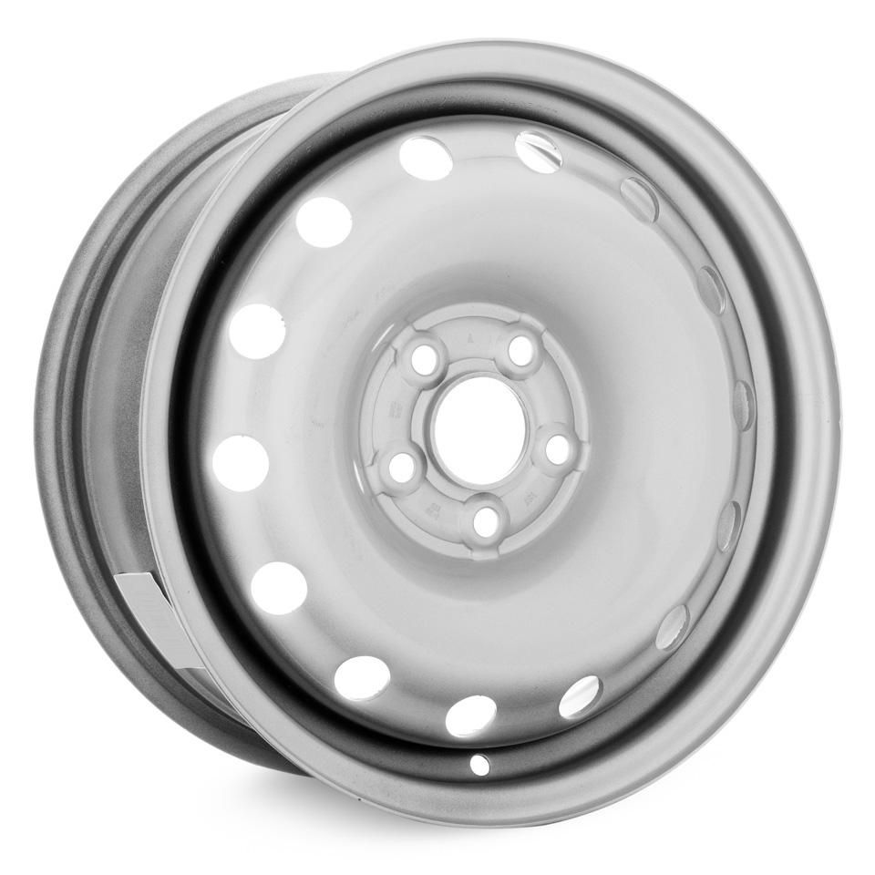 Фото - Штампованный диск TREBL 64H38D P Volkswagen 6x15/5*100 D57.1 ET38 Silver штампованный диск trebl mitsubishi outlander r 1722 6 5x17 5 114 3 d67 1 et38 black