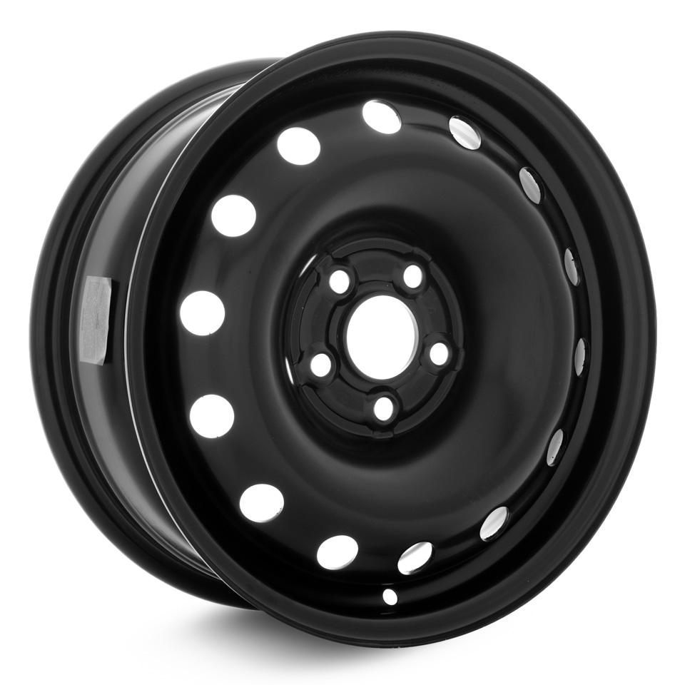 Фото - Штампованный диск TREBL 64H38D P Volkswagen 6x15/5*100 D57.1 ET38 Black штампованный диск trebl mitsubishi outlander r 1722 6 5x17 5 114 3 d67 1 et38 black