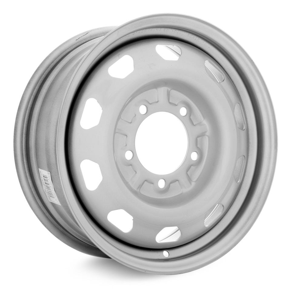 Штампованный диск TREBL LT2883D P UAZ-Patriot 6.5x16/5*139.7 D108.6 ET40 Silver колесный диск trebl lt2883d 6 5х16 5х139 7 d108 6 et40 silver
