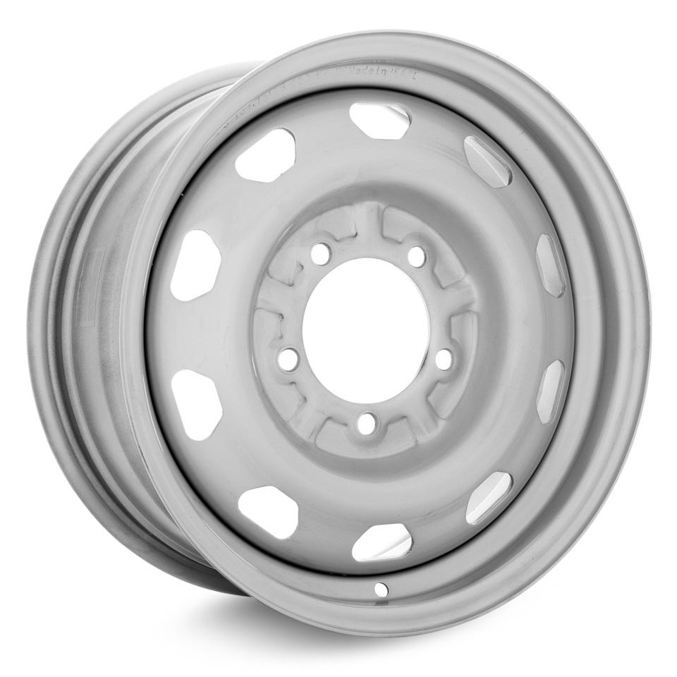 Штампованный диск TREBL R-1680_P 7x16/5*139.7 D108.6 ET35 Silver колесный диск штампованный trebl 9138165 7x16 4 108 et29 d65 1 для peugeot 308 2008