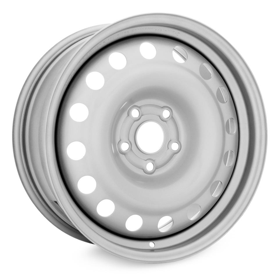 Фото - Штампованный диск TREBL X40947 7x17/5*114.3 D60.1 ET35 Silver штампованный диск trebl 6555 chevrolet 5 5x14 4 114 3 d56 6 et44 silver