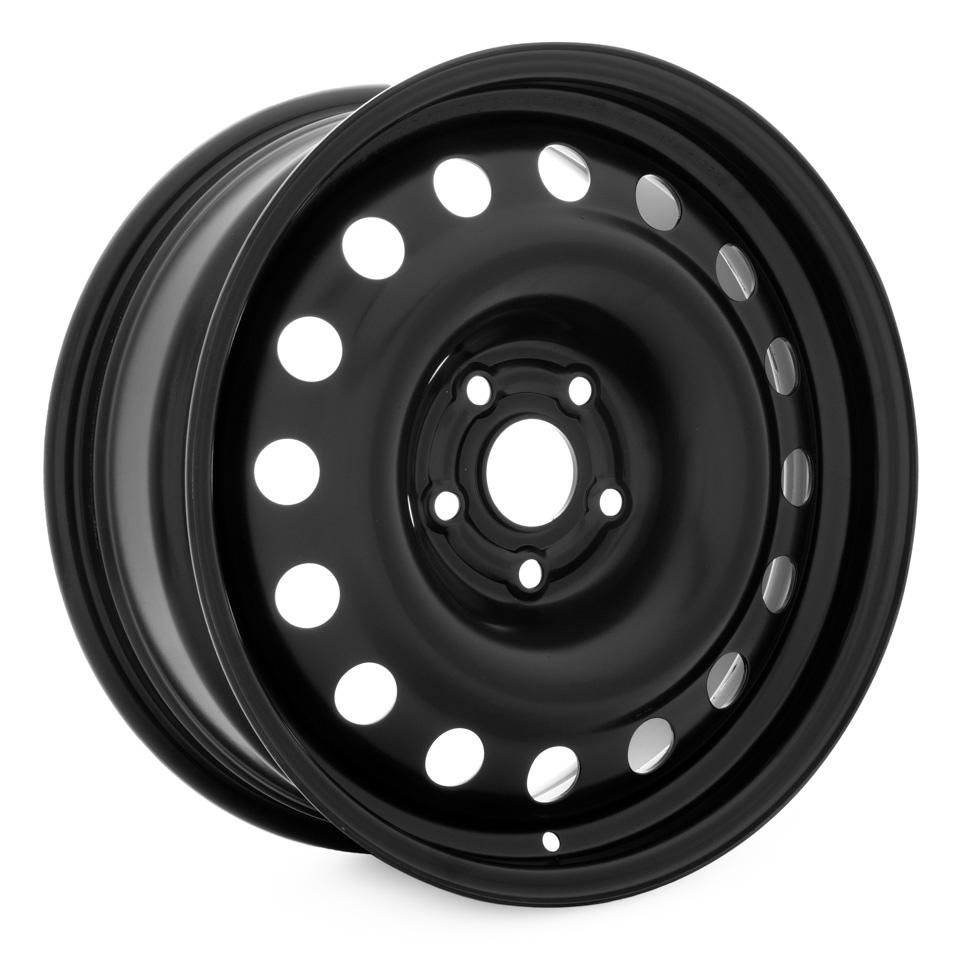 Фото - Штампованный диск TREBL X40947 7x17/5*114.3 D60.1 ET35 Black штампованный диск trebl 9695t peugeot 6 5x16 4 108 d65 1 et31 black