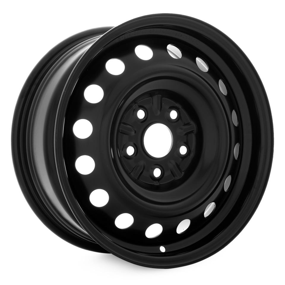 Фото - Штампованный диск TREBL R-1679 7x16/5*114.3 D60.1 ET40 Black штампованный диск trebl mitsubishi outlander r 1722 6 5x17 5 114 3 d67 1 et38 black