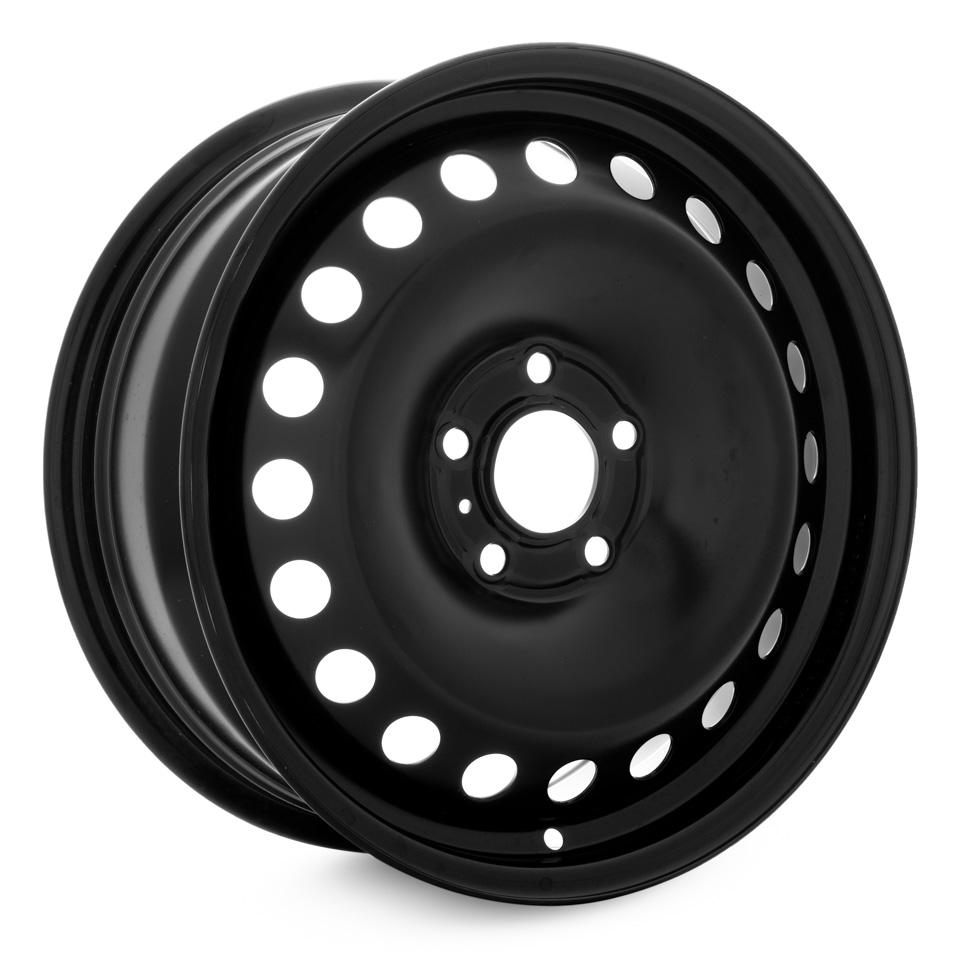 Фото - Штампованный диск Magnetto Ford Focus 2 6.5x16/5*108 D63.4 ET50 black штампованный диск magnetto vw jetta 6 5x16 5 112 d57 1 et50 black
