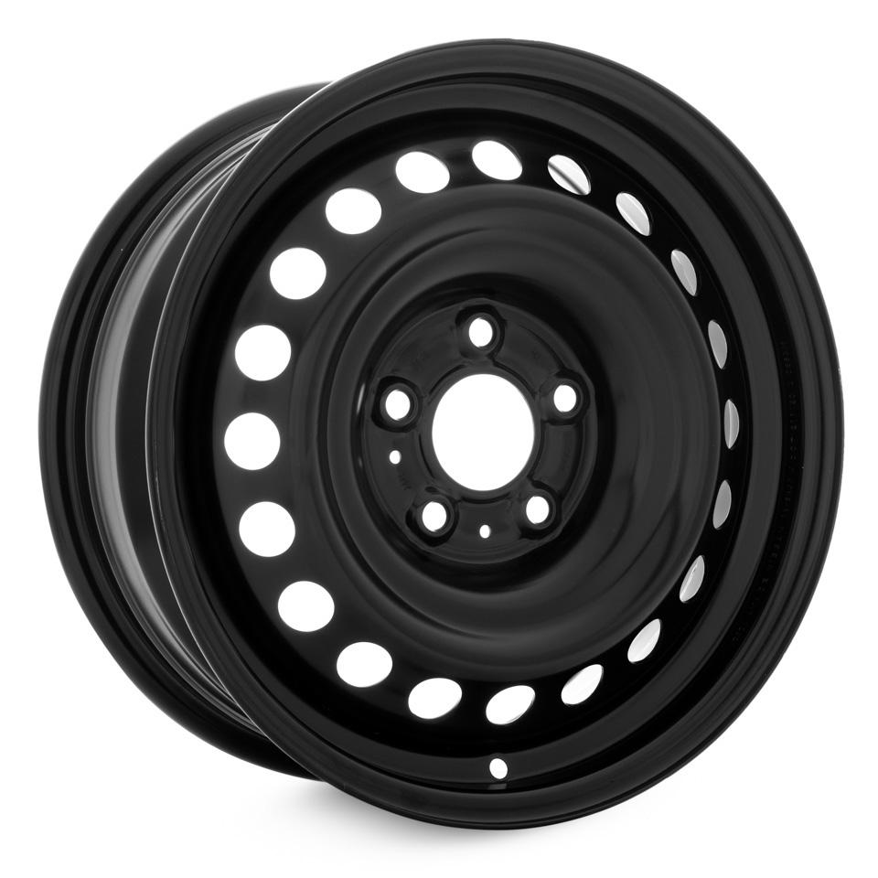 Фото - Штампованный диск Magnetto Nissan Juke/Qashqai 6.5x16/5*114.3 D66.1 ET40 black штампованный диск magnetto vw jetta 6 5x16 5 112 d57 1 et50 black