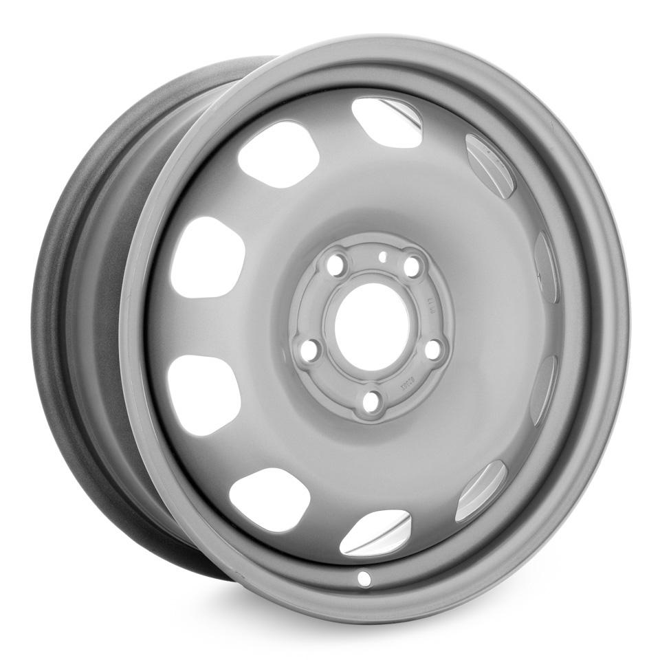 Фото - Штампованный диск Magnetto Renault Duster 6.5x16/5*114.3 D66.1 ET50 silver штампованный диск magnetto vw jetta 6 5x16 5 112 d57 1 et50 black