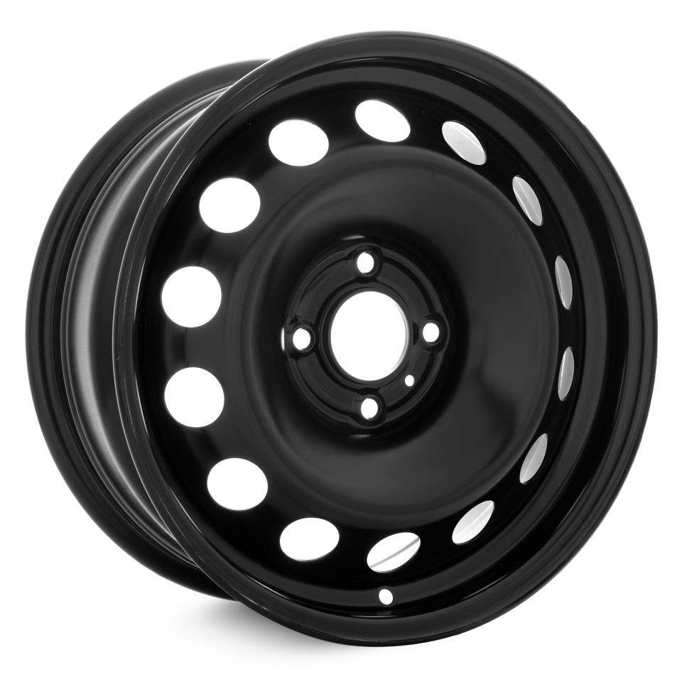 Фото - Штампованный диск Magnetto Peugeot-408 7x16/4*108 D65.1 ET32 black штампованный диск trebl 9695t peugeot 6 5x16 4 108 d65 1 et31 black