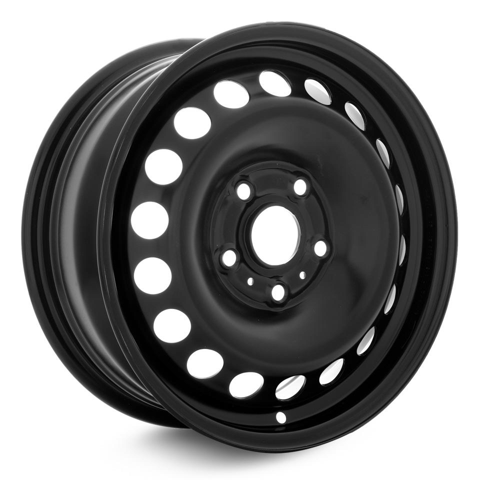 Фото - Штампованный диск Magnetto VW Jetta 6x15/5*112 D57.1 ET47 black штампованный диск magnetto vw jetta 6 5x16 5 112 d57 1 et50 black