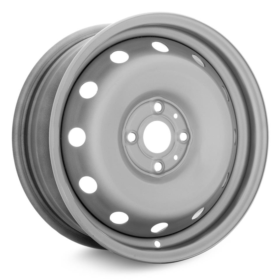 Фото - Штампованный диск Magnetto Hyundai Solaris 6x15/4*100 D54.1 ET48 silver штампованный диск magnetto lada vesta 15009 6x15 4 100 d60 1 et50 black