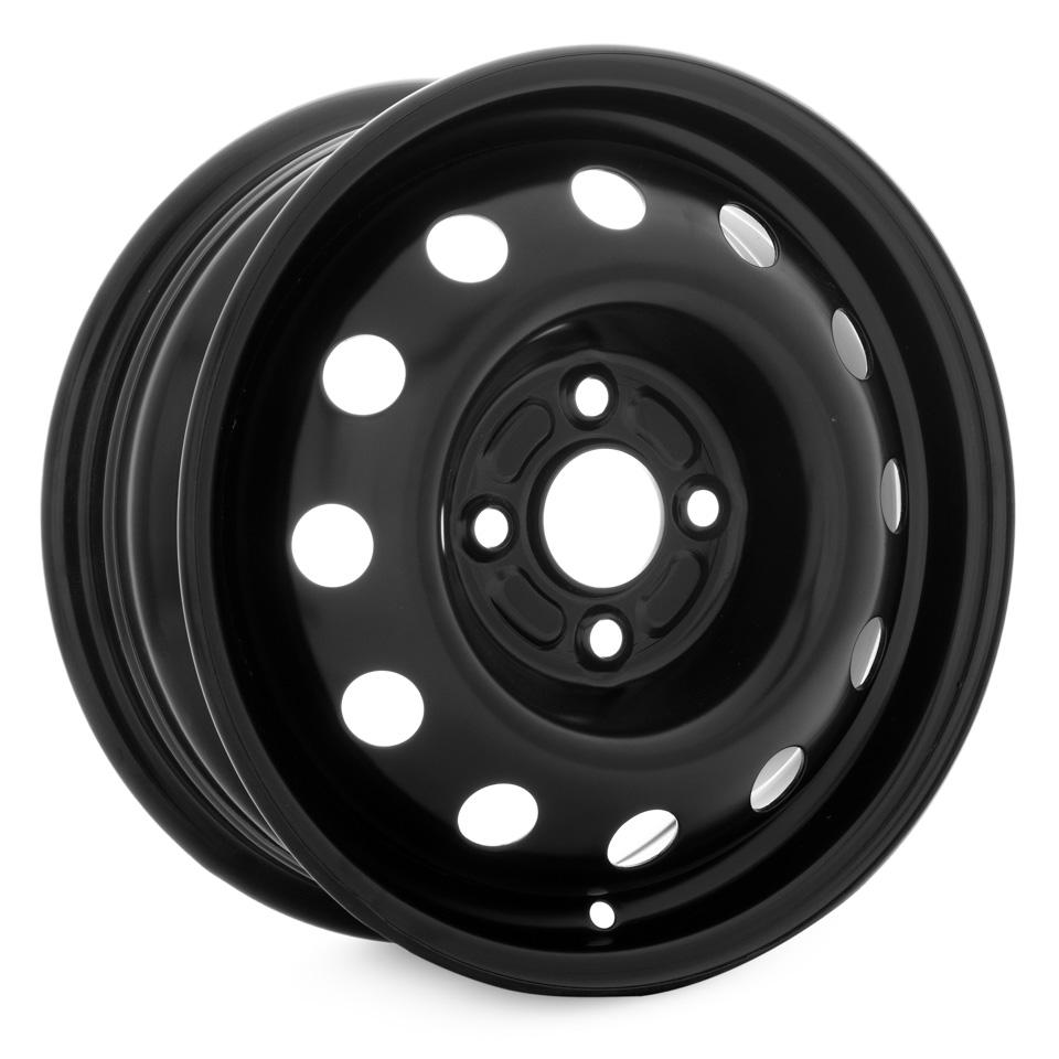 Фото - Штампованный диск Magnetto Daewoo 5.5x14/4*100 D56.6 ET49 black штампованный диск magnetto vw jetta 6 5x16 5 112 d57 1 et50 black