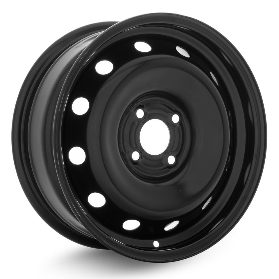 Фото - Штампованный диск ТЗСК Renault Logan 2 6x15/4*100 D60.1 ET40 Черный-глянец колесный диск тзск nissan qashqai 6 5x16 5x114 3 d66 1 et40 bk