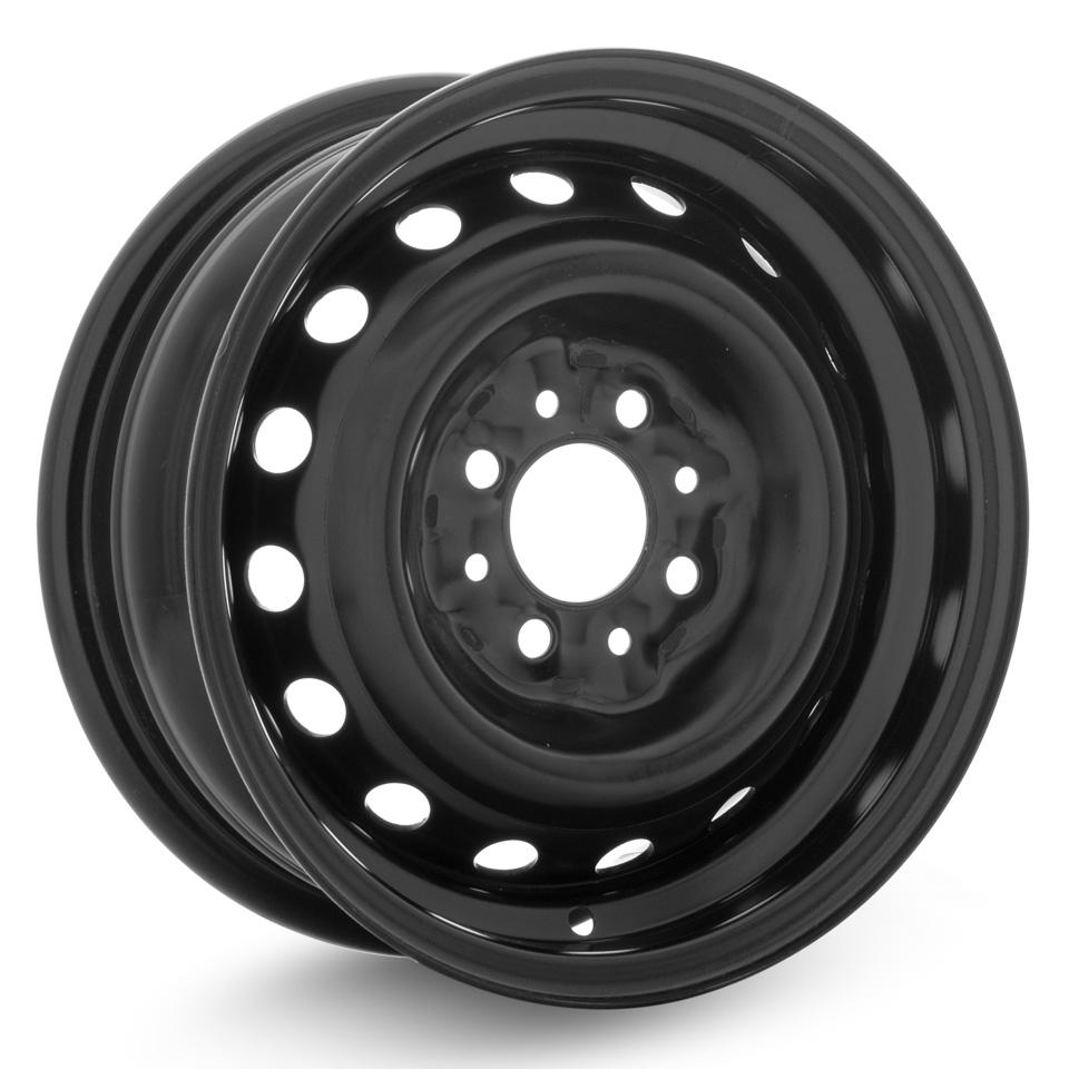 Фото - Штампованный диск ТЗСК Lada Largus 6x15/4*100 D60.1 ET50 Черный штампованный диск magnetto lada vesta 15009 6x15 4 100 d60 1 et50 black