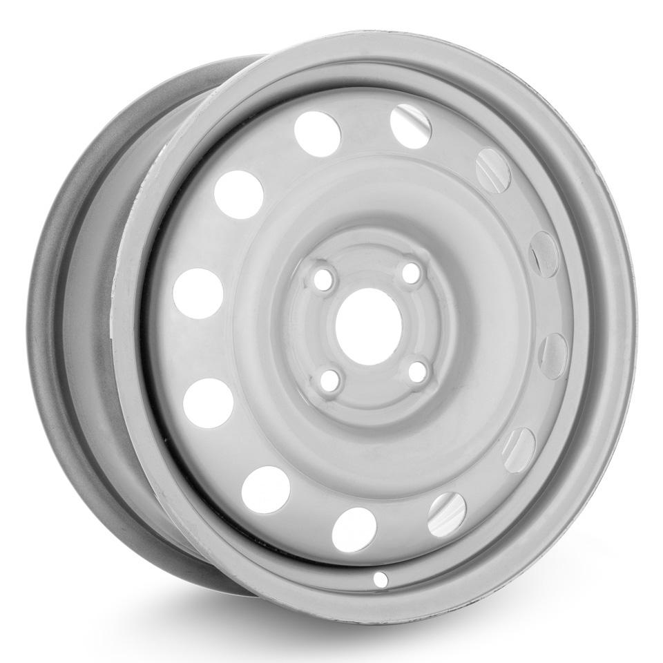Фото - Штампованный диск ТЗСК Hyundai Solaris/Kia Rio 3 6x15/4*100 D54.1 ET48 Серебро next nx013 solaris rio 6x15 4x100 d54 1 et48 black