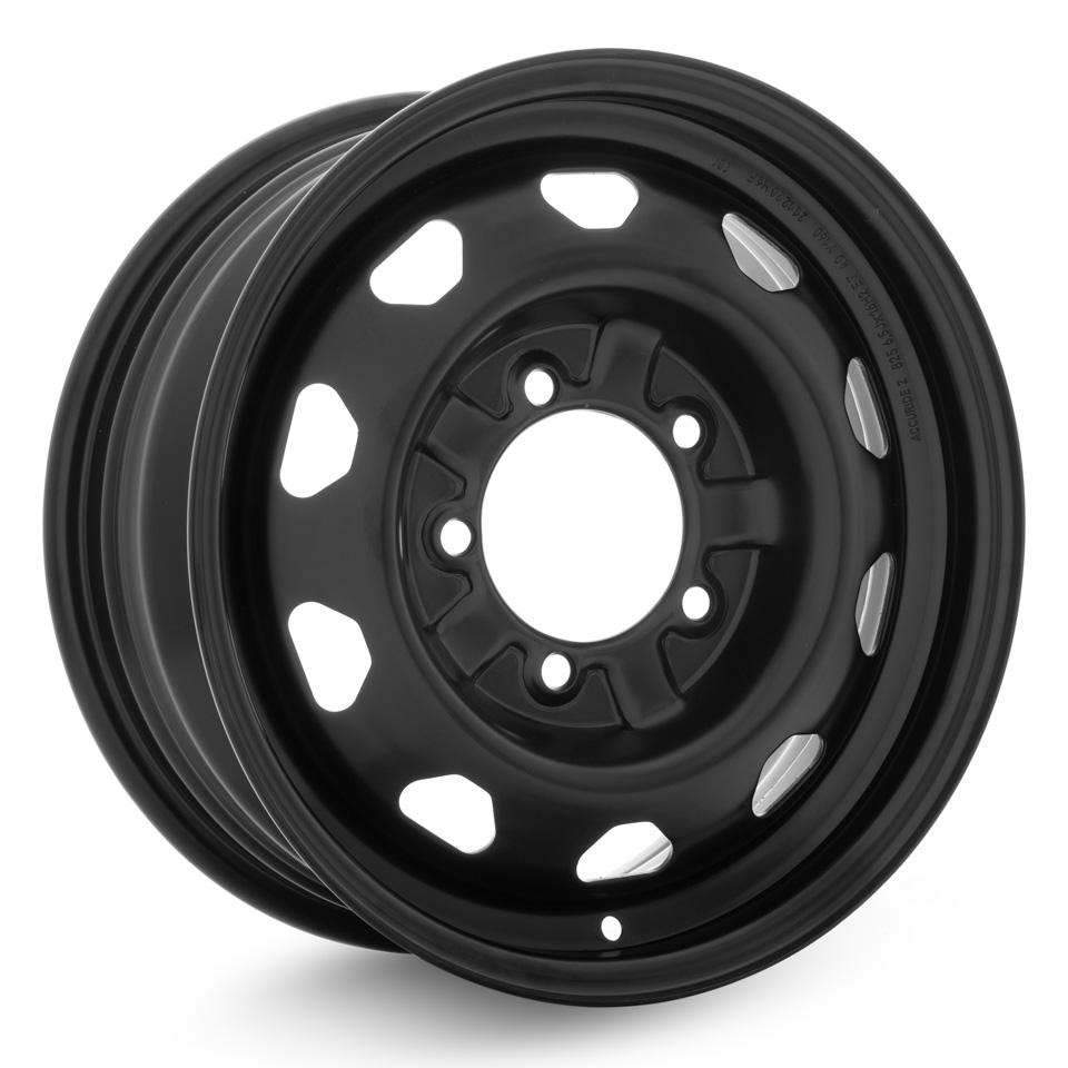 Штампованный диск Accuride УАЗ-31622 6.5x16/5*139.7 D108.5 ET40 Черный