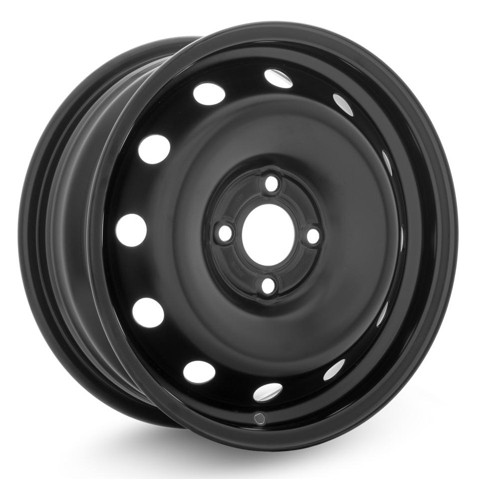 Фото - Штампованный диск Accuride Lada Largus/Vesta 6x15/4*100 D60.1 ET50 Черный штампованный диск magnetto lada vesta 15009 6x15 4 100 d60 1 et50 black