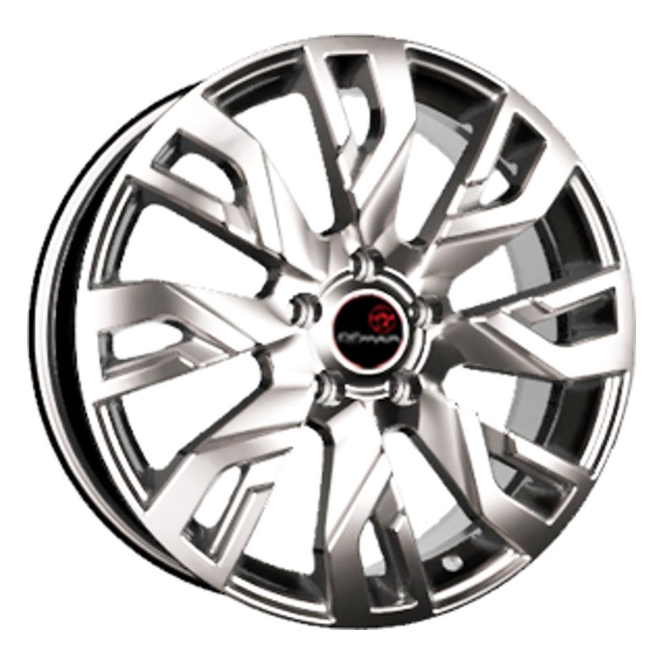 Фото - Литой диск Remain Mitsubishi Outlander (R207) 7x18/5*114.3 D67.1 ET38 Сильвер S штампованный диск trebl mitsubishi outlander r 1722 6 5x17 5 114 3 d67 1 et38 black