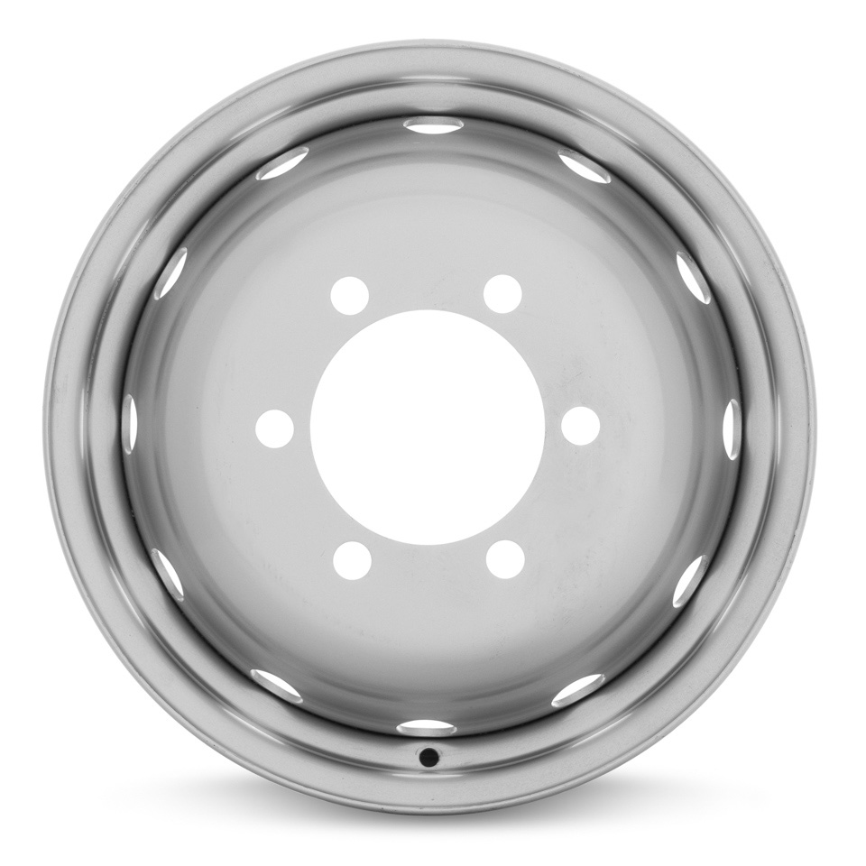 Фото - Штампованный диск ТЗСК УТ-00004395 5.5x16/6*170 D130 ET105 Серебро round круг d130 см