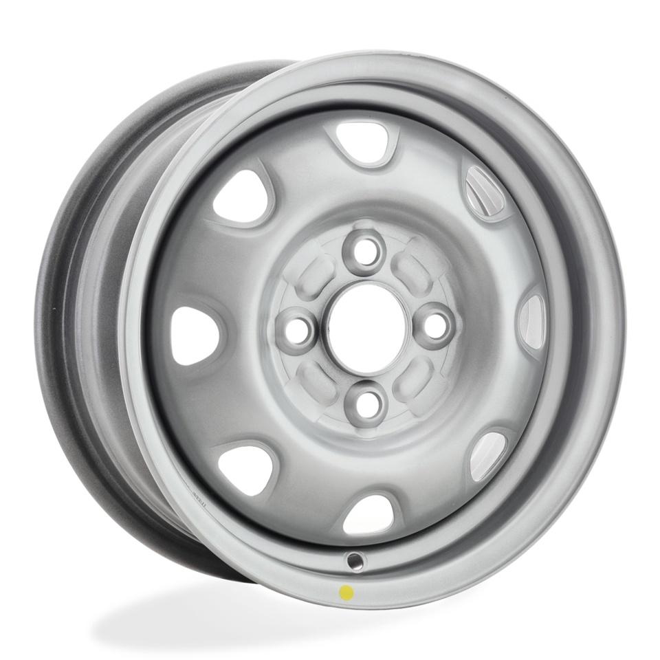 Штампованный диск Accuride ВАЗ-оригинал ВАЗ-2170 Приора 5.5x14/4*98 D58.6 ET35 Серебро