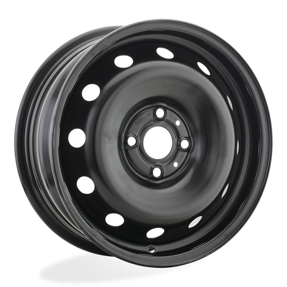Фото - Штампованный диск Magnetto Hyundai Solaris 6x15/4*100 D54.1 ET48 black next nx013 solaris rio 6x15 4x100 d54 1 et48 black