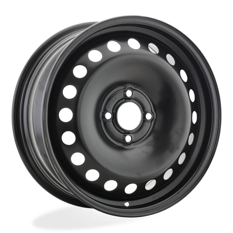 Фото - Штампованный диск Magnetto Lada Vesta [16017 AM] 6.5x16/4*100 D60.1 ET50 black штампованный диск magnetto vw jetta 6 5x16 5 112 d57 1 et50 black