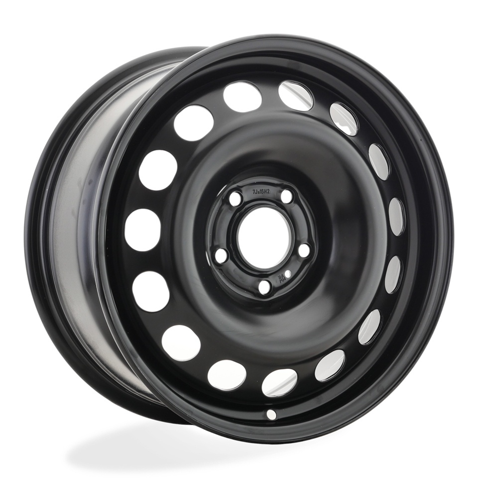 Фото - Штампованный диск Magnetto 16013 AM Peugeot Traveller 7x16/5*108 D65.1 ET46 black штампованный диск magnetto vw jetta 6 5x16 5 112 d57 1 et50 black