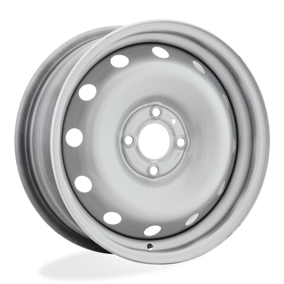 Фото - Штампованный диск Magnetto 15002 S AM Renault 6x15/4*100 D60.1 ET40 silver колесный диск magnetto wheels 15002 6x15 4x100 d60 1 et40 black