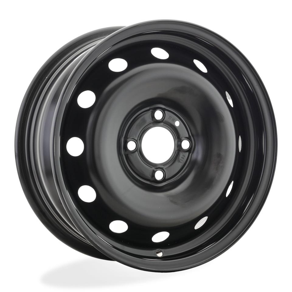 Фото - Штампованный диск Magnetto 15002 S AM Renault 6x15/4*100 D60.1 ET40 black колесный диск magnetto wheels 15002 6x15 4x100 d60 1 et40 black