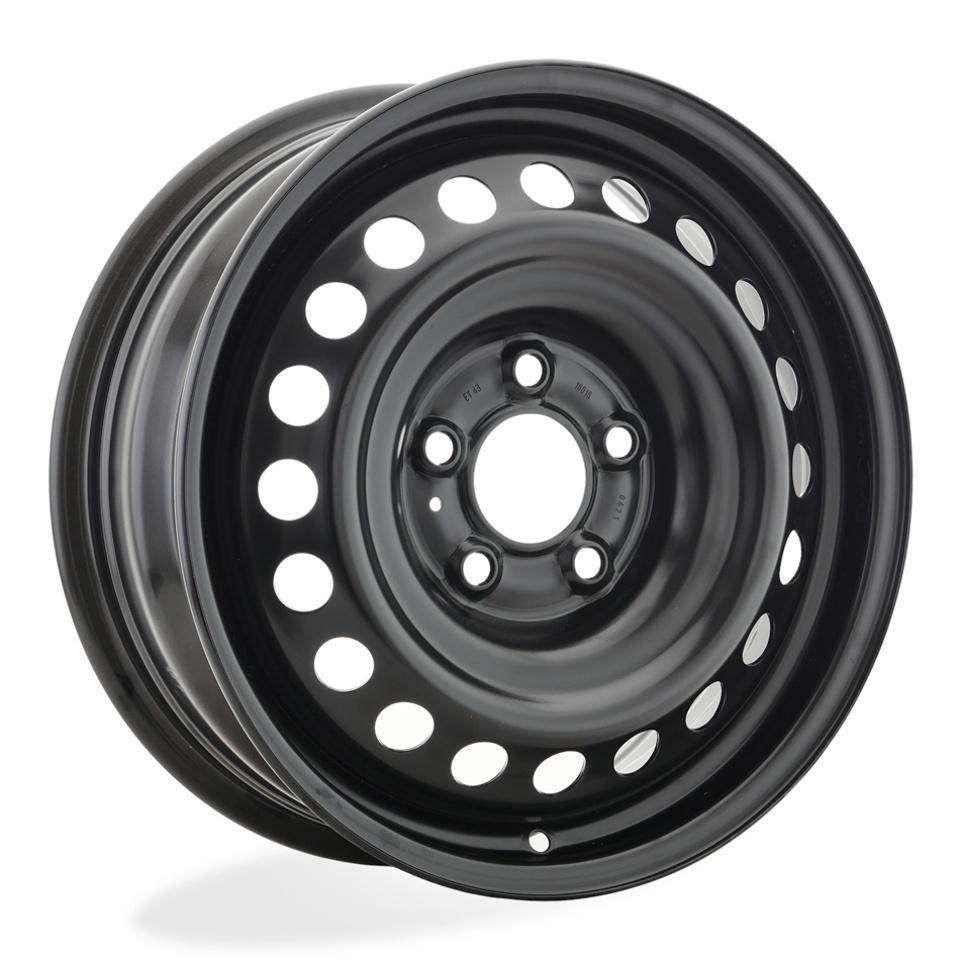 Фото - Штампованный диск Magnetto Skoda Karoq [16018 AM] 6x16/5*112 D57.1 ET43 black штампованный диск magnetto vw jetta 6 5x16 5 112 d57 1 et50 black