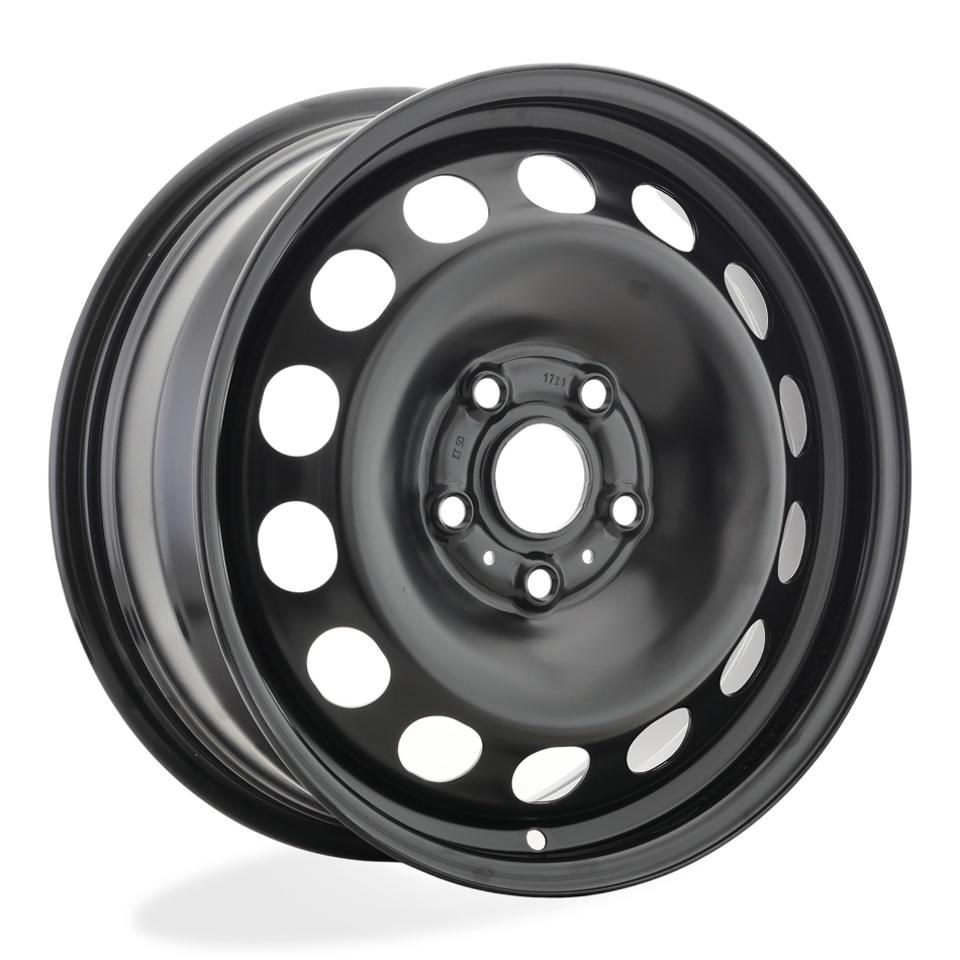 Фото - Штампованный диск Magnetto VW Jetta 6.5x16/5*112 D57.1 ET50 black штампованный диск magnetto vw jetta 6 5x16 5 112 d57 1 et50 black