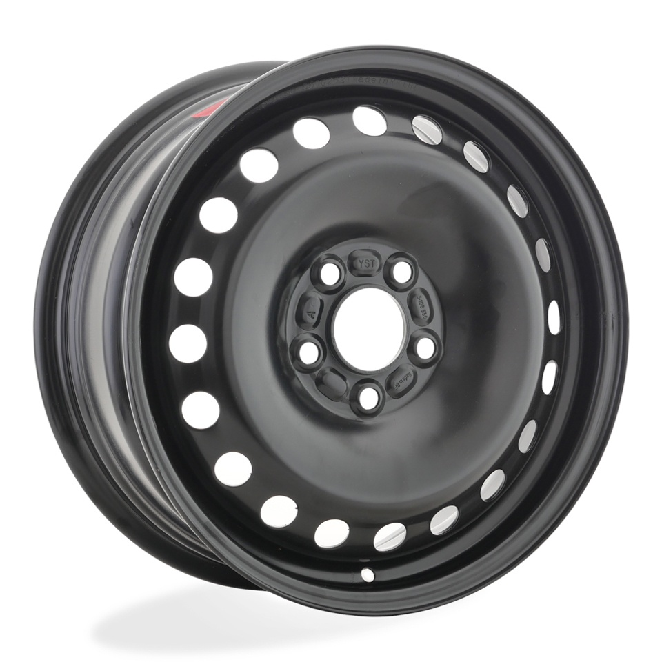 Фото - Штампованный диск TREBL 8325P Ford 6.5x16/5*108 D63.3 ET50 Black штампованный диск trebl 9695t peugeot 6 5x16 4 108 d65 1 et31 black