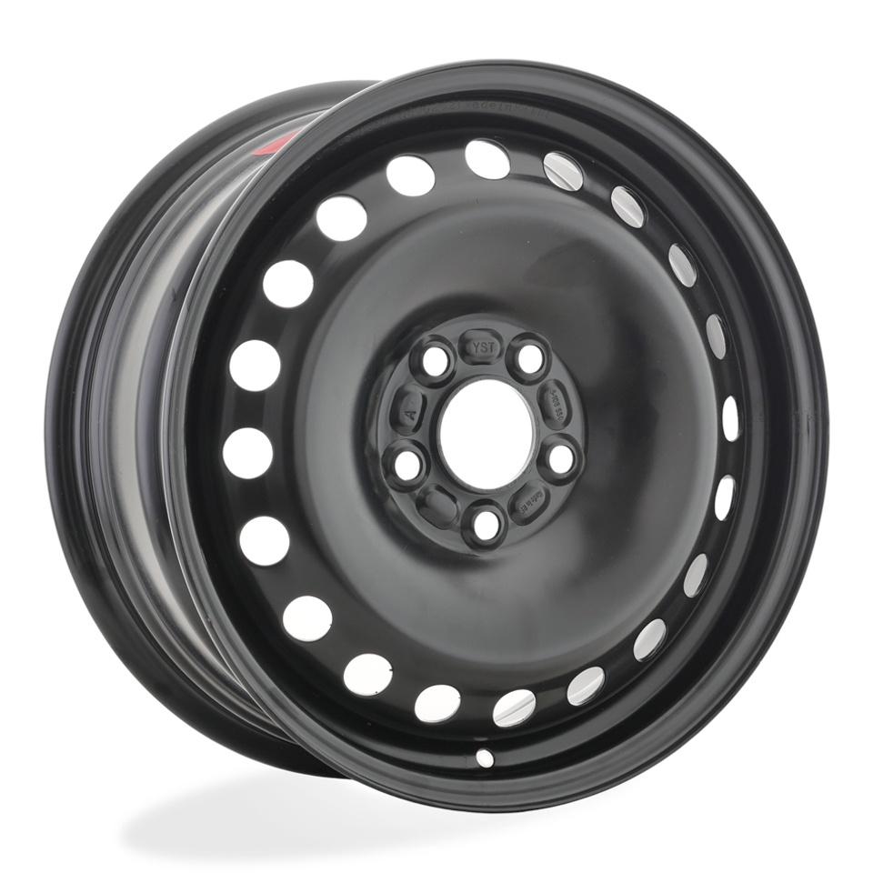 Фото - Штампованный диск TREBL 8325 Ford 6.5x16/5*108 D63.3 ET50 Black штампованный диск trebl 9695t peugeot 6 5x16 4 108 d65 1 et31 black