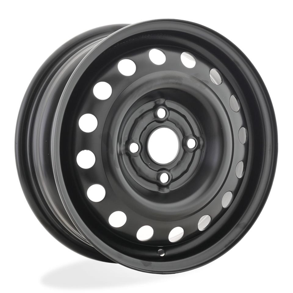 Фото - Штампованный диск TREBL Hyundai 5220T 5x14/4*100 D54.1 ET46 Black штампованный диск trebl 6555 chevrolet 5 5x14 4 114 3 d56 6 et44 silver