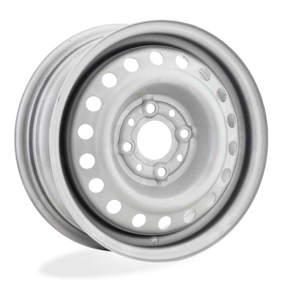 Штампованный диск TREBL 42B40B P Lada 5x13/4*98 D58.6 ET40 Silver колесный диск trebl lt2883d 6 5х16 5х139 7 d108 6 et40 silver