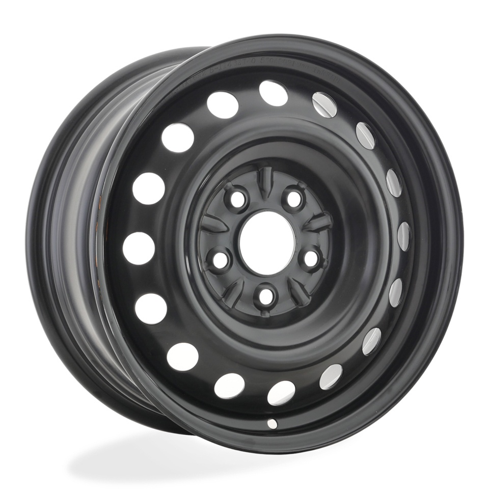 Штампованный диск TREBL 7855 P Nissan 6.5x16/5*114.3 D66.1 ET40 Black