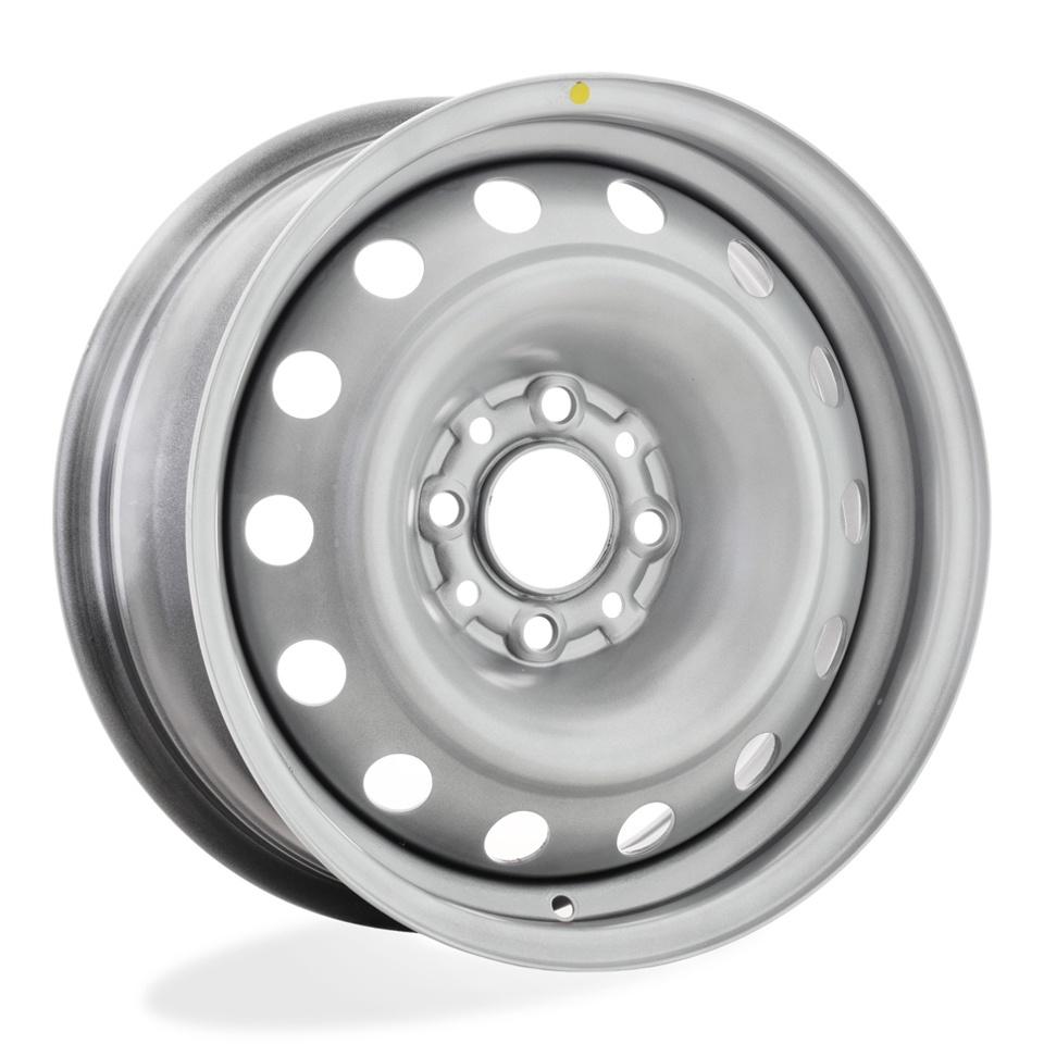 Фото - Штампованный диск TREBL 64C18F Peugeot 6x15/4*108 D65.1 ET18 Silver штампованный диск trebl 9695t peugeot 6 5x16 4 108 d65 1 et31 black