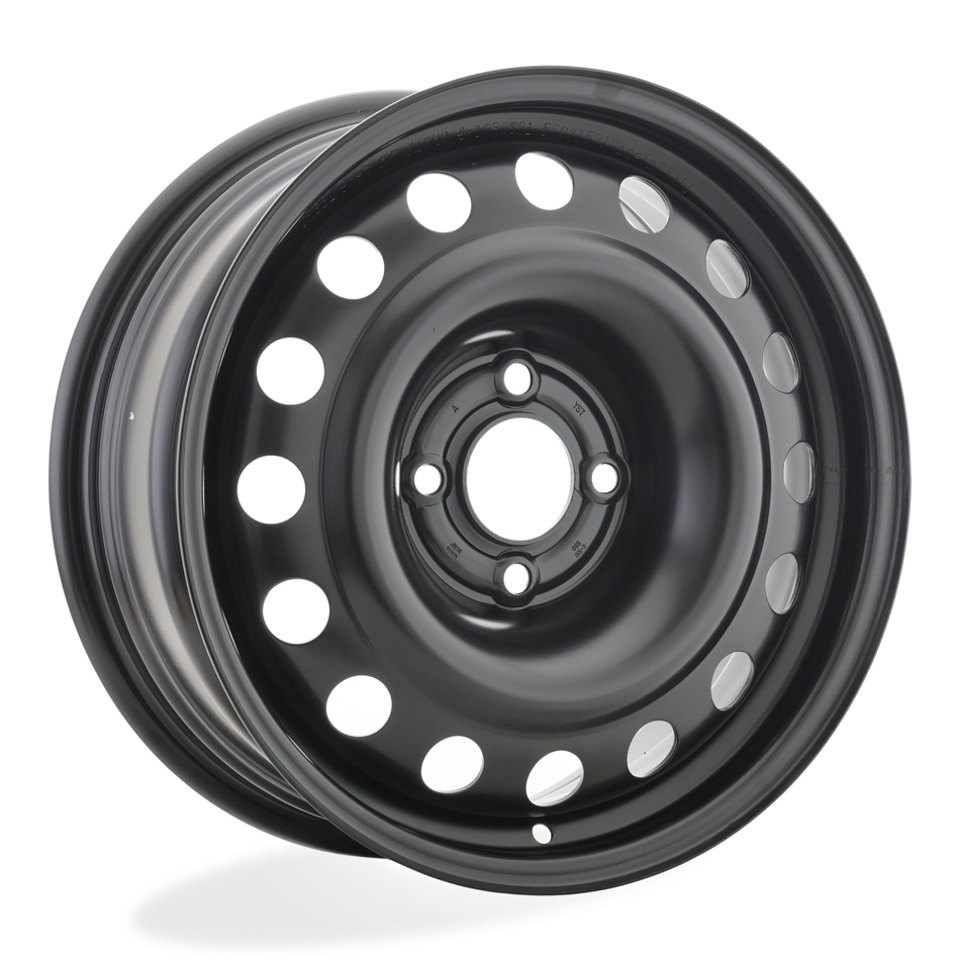 Фото - Штампованный диск TREBL 9695T Peugeot 6.5x16/4*108 D65.1 ET31 Black штампованный диск trebl 9695t peugeot 6 5x16 4 108 d65 1 et31 black