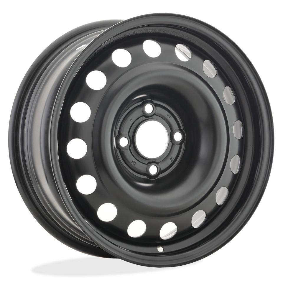 Фото - Штампованный диск TREBL X40051 Peugeot 6.5x16/4*108 D65.1 ET20 Black штампованный диск trebl 9695t peugeot 6 5x16 4 108 d65 1 et31 black