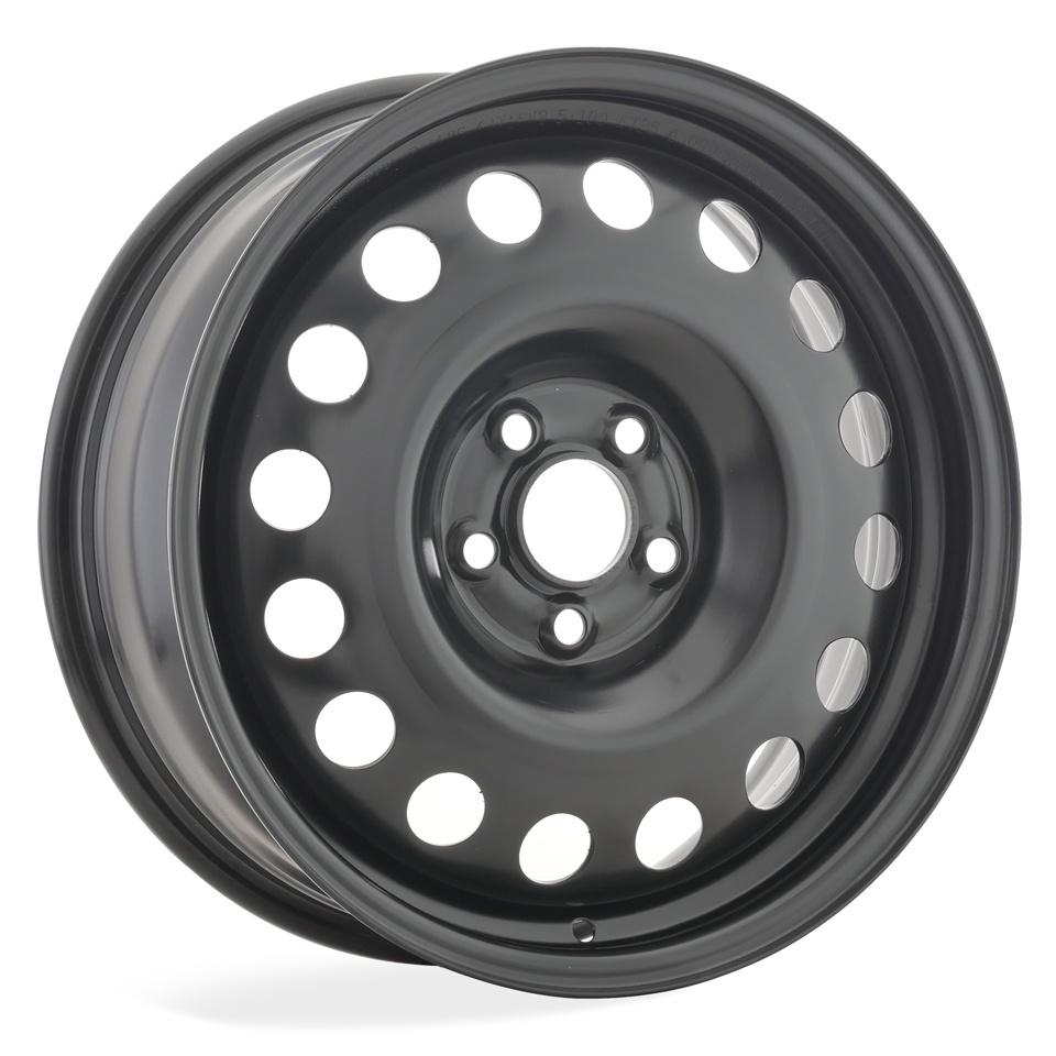 Штампованный диск TREBL Skoda KAMIQ R-1675 6x16/5*100 D57.1 ET35 Black штампованный диск trebl x40933 p lada 6x16 4 100 d60 1 et41 black