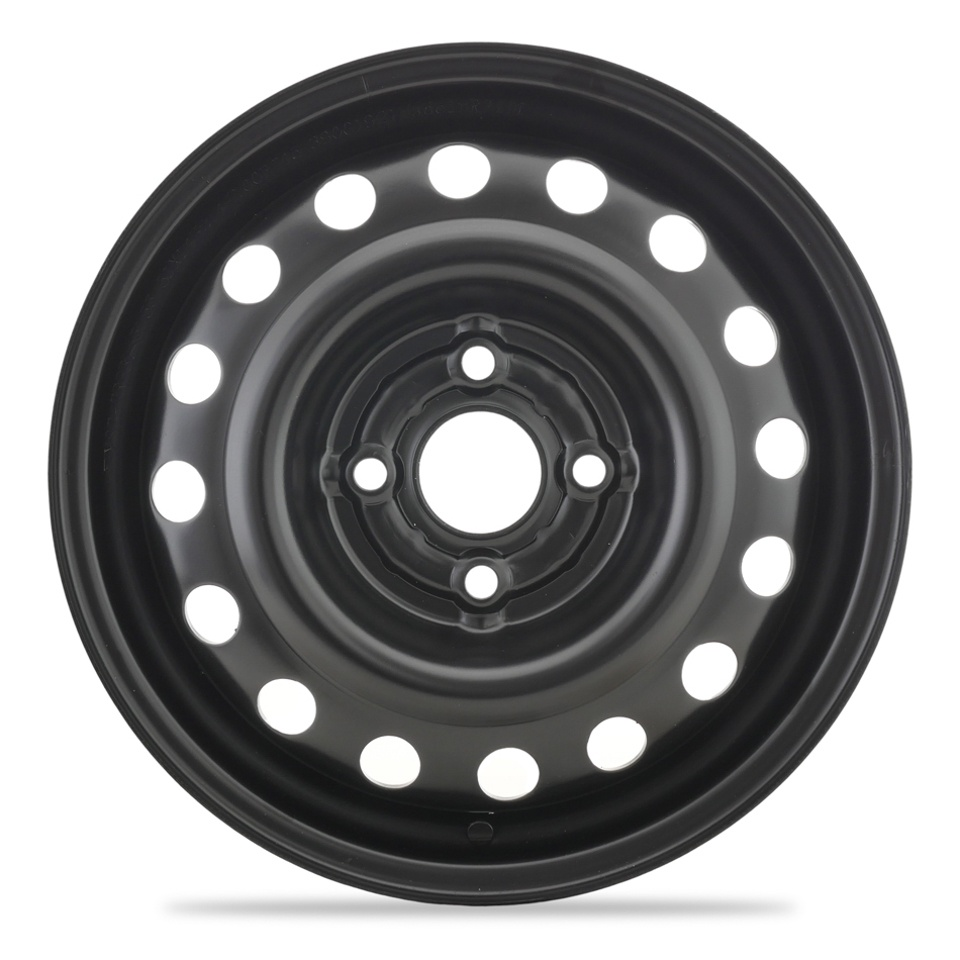 Фото - Штампованный диск TREBL 5155T Suzuki 5x14/4*100 D54.1 ET45 Black штампованный диск trebl 6555 chevrolet 5 5x14 4 114 3 d56 6 et44 silver