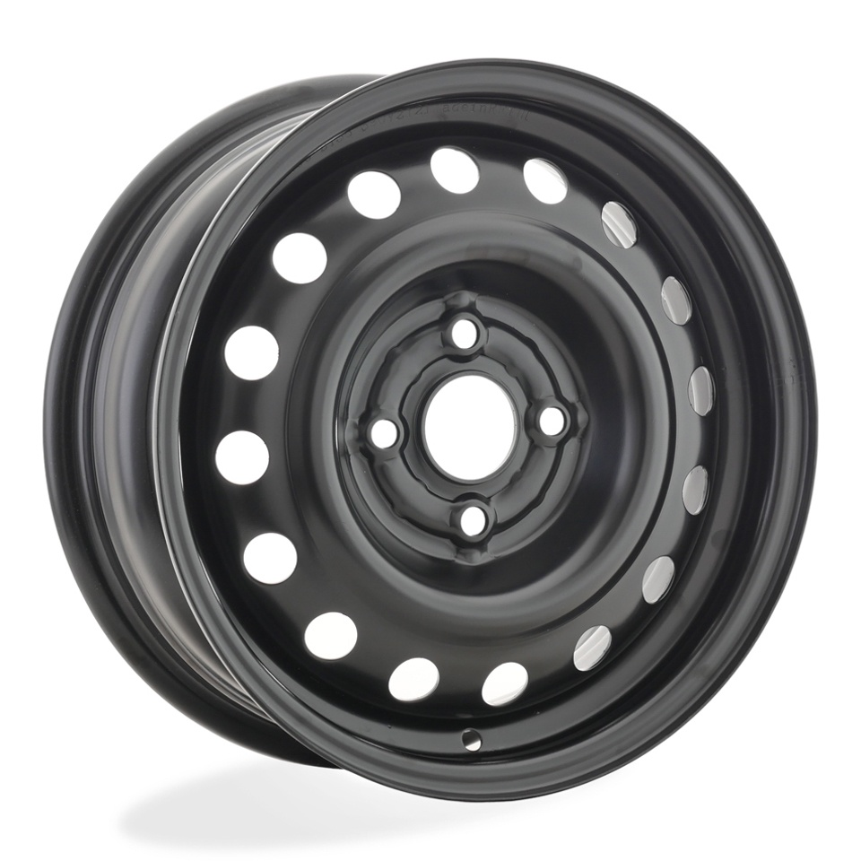Фото - Штампованный диск TREBL 53A38R Toyota 5.5x14/4*100 D54.1 ET38 Black штампованный диск trebl 9695t peugeot 6 5x16 4 108 d65 1 et31 black