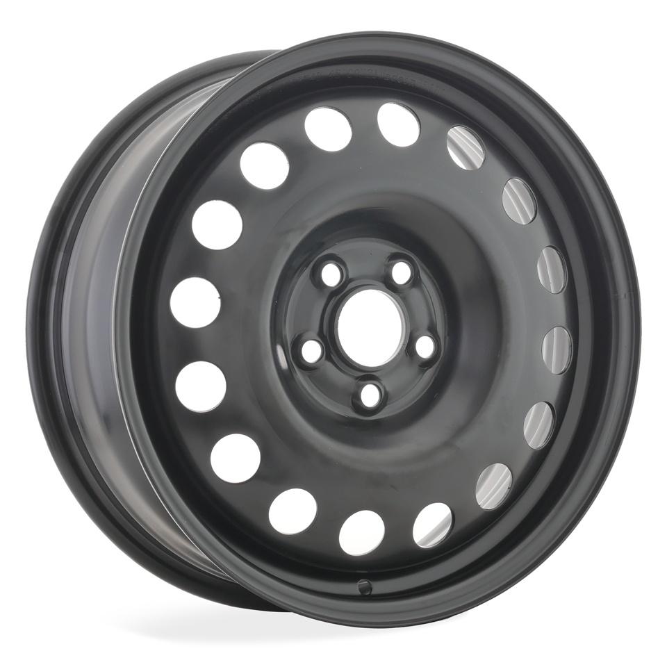 Штампованный диск TREBL Volkswagen X40934 6x16/5*100 D57.1 ET45 Black штампованный диск trebl x40933 p lada 6x16 4 100 d60 1 et41 black